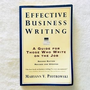 Effective Business Work Writing Guide Book